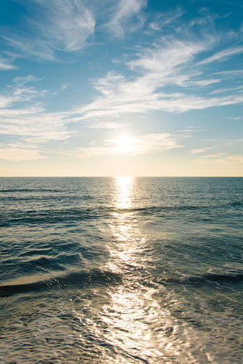 Golden hour Beach Beauty In Nature Day Horizon Over Water Landscape Nature Nikonphotography No People Outdoor Pursuit Outdoors Scenics Sea Sky Summer Sunlight Sunset Tranquility Vscofilm Water