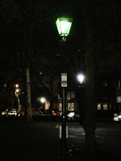 Street lamp in Highgate village Illuminated Night Street Street Light Lighting Equipment City No People