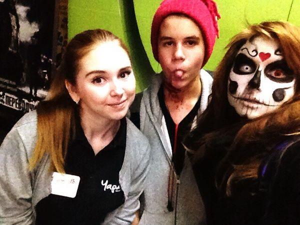 Helloween 🎃horrors Horror Helloween Party друзья на работе