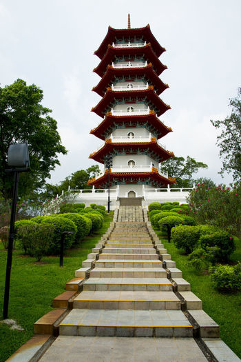 7 Storey Pagoda in Chinese Garden Singapore City Chinese Garden 7 Storey Pagoda Pagoda