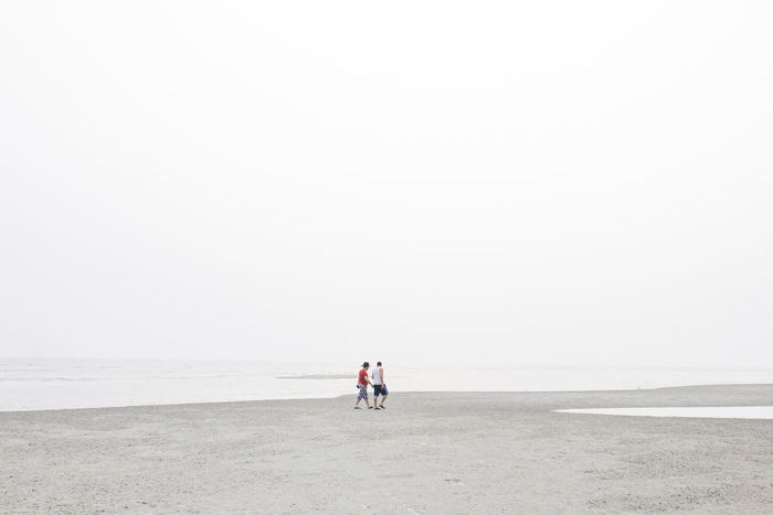 Can you walk the walk? Minimalism Travel White Capture The Moment Beach