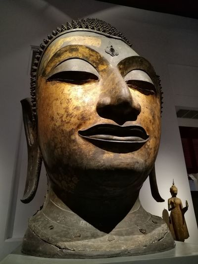 Bangkok Thailand. Buddha History Museum  History Buddha Thailand Buddha Head Culture And Tradition Great Buddha Museum Thai Culture