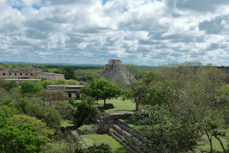 uxmal where the pyramid of the fortune teller reigns supreme Uxmal Mexico Yúcatan Pyramid, Maya Sky America History I Guess Landscape, Archeology Turist Travel Eyem Gallery Situated Clouds Passion Flower Structure EyeEm Selects Day Outdoors Religion Civilization Culture Ruin Stone Site Mexcican World Tourism