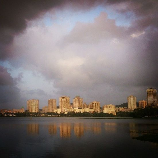 Powai Lake, Mumbai ?, Reflection