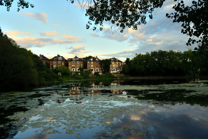 Hampstead  Architecture Beauty In Nature No People North London Reflection Sky Water Waterfront