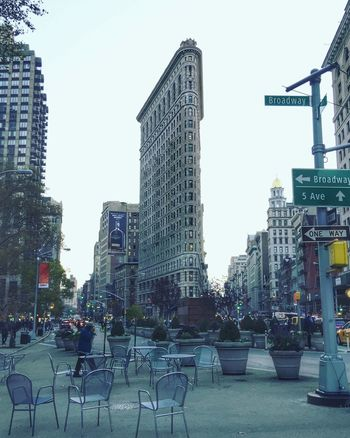 City Life Architecture Day City Outdoors Modern Building Exterior People Sky Flatiron Building EyeEmNewHere