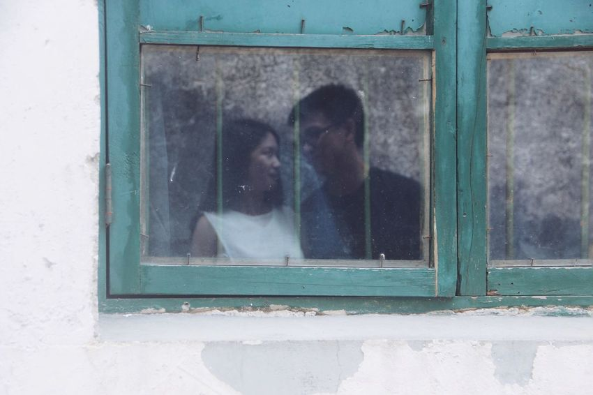 Window Reflection Reflections Reflection_collection Glass Reflection Lover Love Couple Romantic Happy Happiness EyeEm Best Shots Snapshots Of Life Popular Photos People Two Is Better Than One