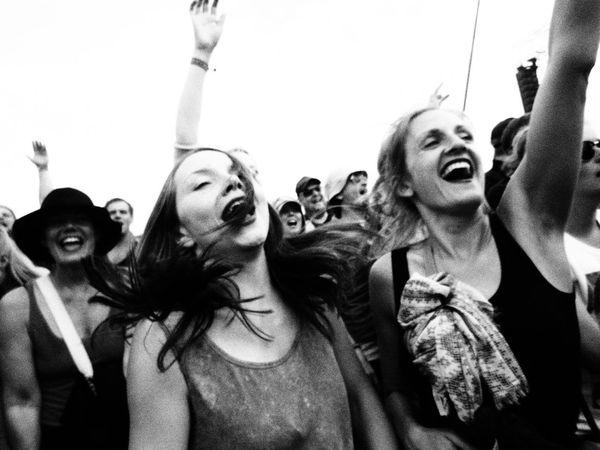 The Girls! Roskilde Festival Concert Denmark Music