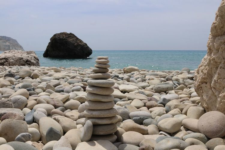 Live For The Story Beach Petra Tou Romiou Rock Formation Sea And Sky No People Cyprus Pile Of Stones Sea Seascape Rock Rock - Object Rocks Rock Formations Sea And Sky Landscape Nature_collection Pile Of Rocks Balance Natural Cravel Cravelove Nature_perfection Naturephotography Naturelover Nature Lover