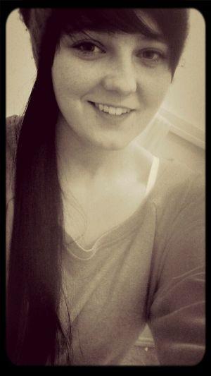 smile, no matter what. That's Me Femme Lesbian Self Portrait