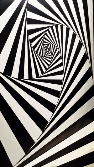 Black And White Optical Optical Illusions Surrealism Escher