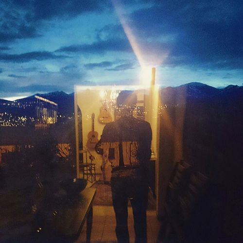 Insideout Selfportrait Alps Reflection Swiss