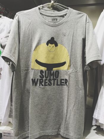 I'll buy this. Japan Uniqlo Sumou