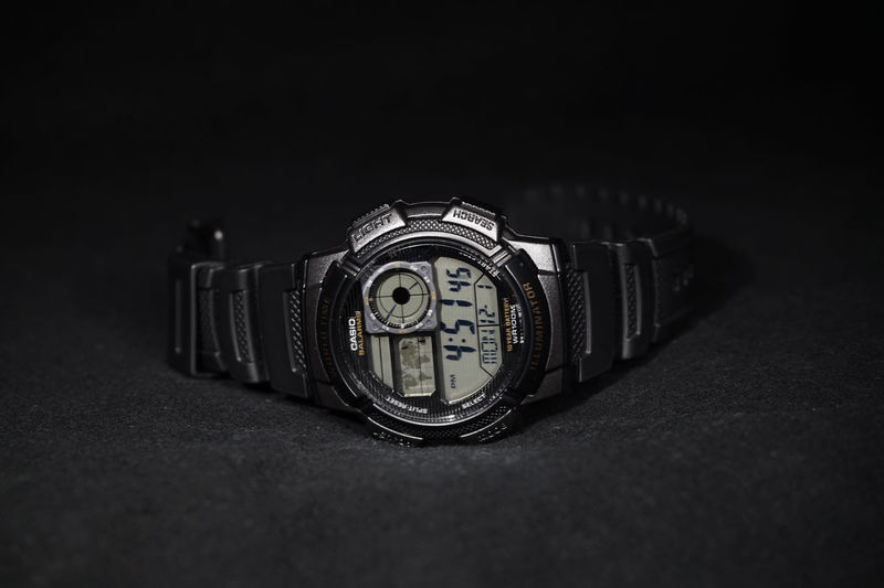 Casio Watch Black Casio Dark Digital Product Product Photography Watch Wristwatch Wristwatches First Eyeem Photo