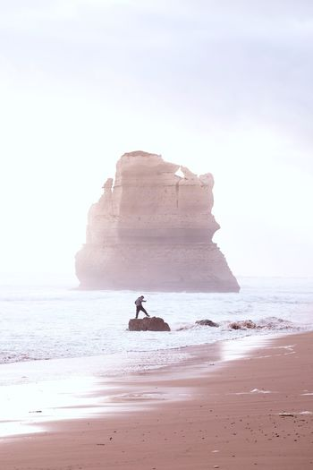 Magog on the Australian Coast IG @noeldxng Rock Land Sea Water Beach Rock Formation Sky Beauty In Nature Nature Scenics - Nature Day Outdoors Australia Landscape Port Campbell National Park Victoria Seascape A New Beginning Capture Tomorrow 17.62°