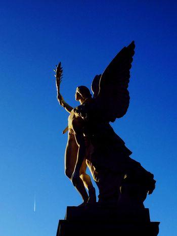 Fallen Angel Berlin Museum Museum Island Germany Deutschland Mitte Stadtmitte Angel Blue Sky Blue