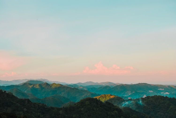 Cebu Mountains 📸 Cebu Lanscape Landscape_photography Mountain Tea Crop Mountain Tree Sunset Rural Scene Beauty Fog Forest Horizon Agriculture Mountain Peak Multi-layered Effect Layered Majestic Mountain Range Snowcapped Mountain Mountain Ridge