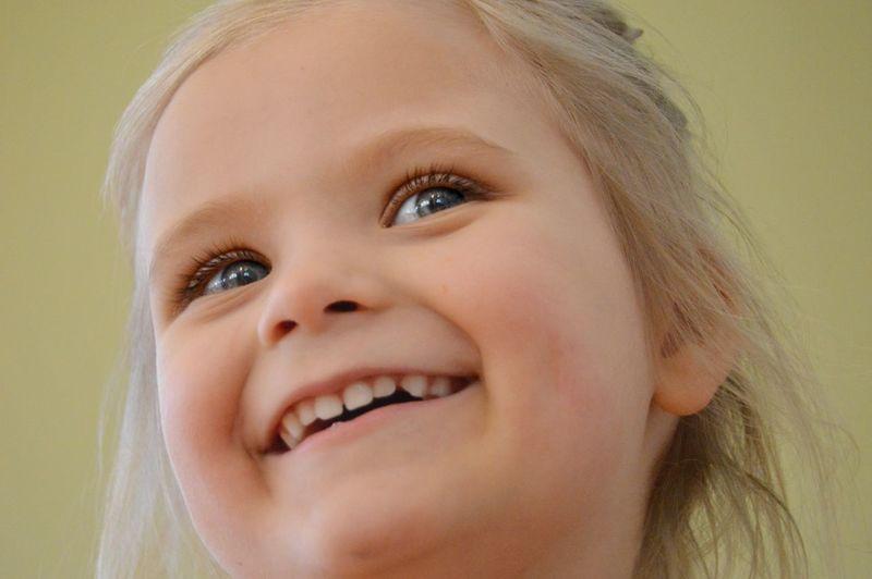 Happy girl Portrait Girl Childhood Child Happiness Happy Smiling Smile Eye Blond Hair The Portraitist - 2018 EyeEm Awards