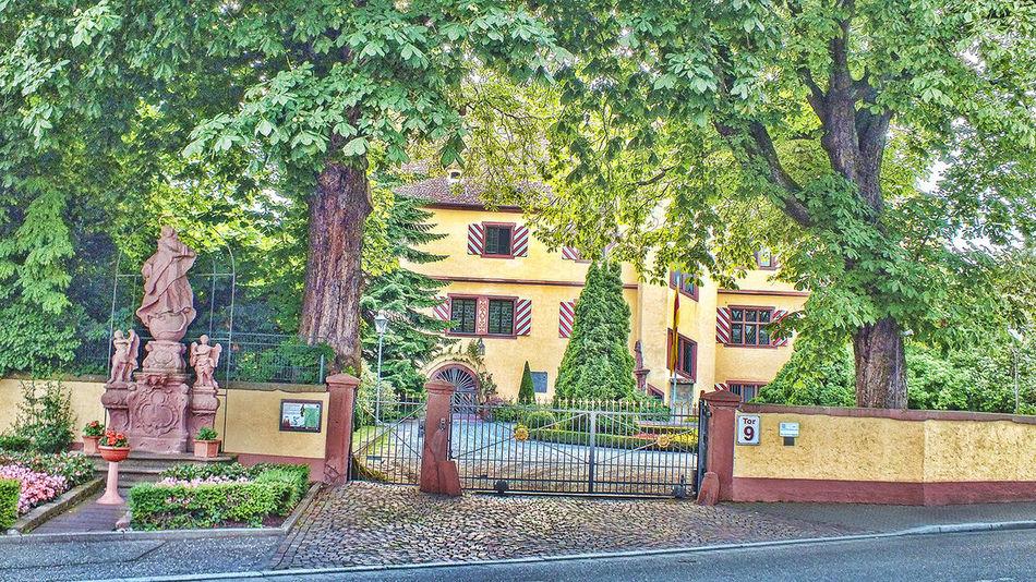 Façade Gebäude Haus HDR House Jahreszeit Nature Villa Wetter