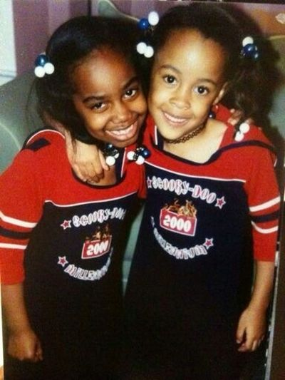 Me And My Cousin When We Were Little #90sBabies