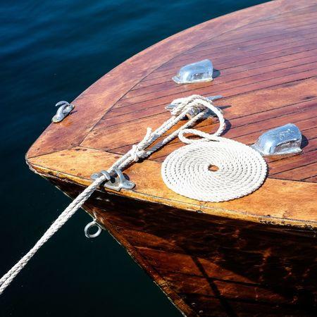 Wooden boat love Bohuslän Wooden Boat Skärhamn Rope