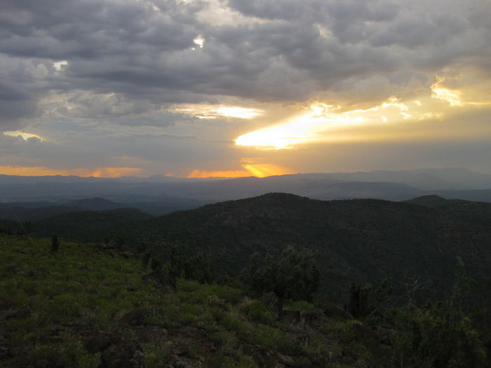 Sunset over Black Hills, Yavapai County, Arizona. Arizona Beauty In Nature Landscape Mountain Mountains Nature No People Outdoors Scenics Sky Sunset Tranquility Lost In The Landscape