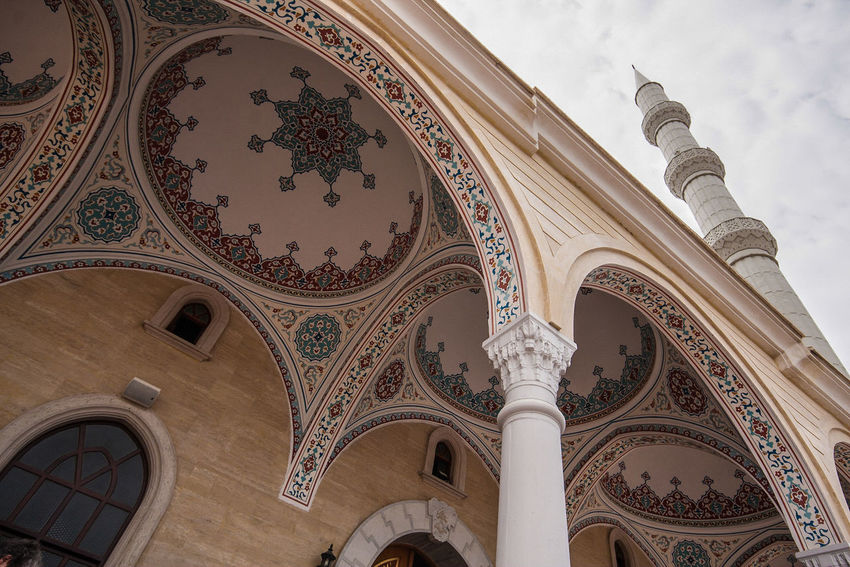 Manavgat, Moschee Kultort Arch Architecture Built Structure Day History Islam Low Angle View Mosche Moscheee No People Religion