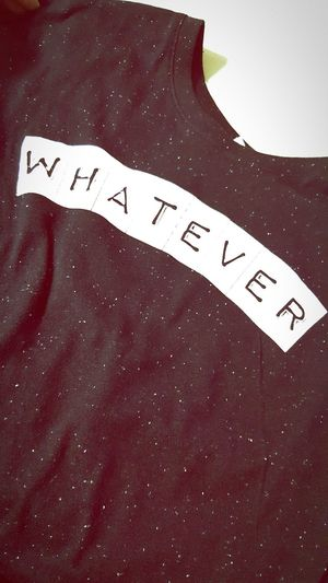Whatever Quote Of The Day  Quote Statement Statement Shirt Shirt