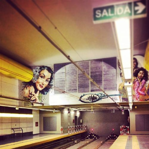 The end. Instagramargentina Igersbsas Instagramarg Igersbaires picoftheday bestoftheday photooftheday subte vias baires buenosaires