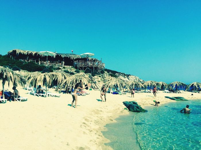 Travel Beach Sand Sea Summer Travel Destinations Enjoyment