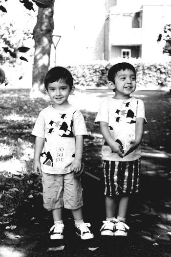 Family Kinder Kids Children Blackandwhite Deutschland Atilla Teoman Usaqliq