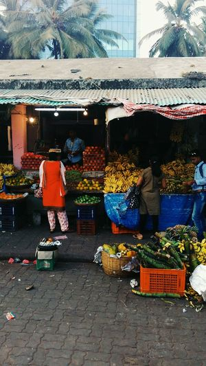 Market scene. Market Stall Vegetable Variation Colour Of Life Fruits And Vegetables Marketplace Lifestyles Outdoors Streetphotography Streetphoto_color Street Art Street Life Break The Mold