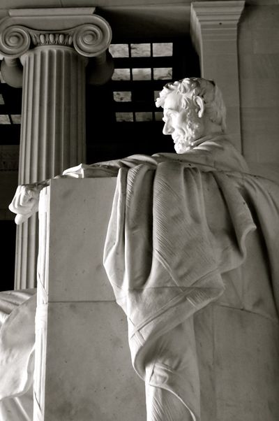 Abraham Lincoln Statue Lincoln Memorial Lincoln Memorial, Washington DC Lincoln Monument Travel Travel Photography USA Washington DC Washington, D. C. Abraham Lincoln Black And White Black And White Photography Blak And White Close-up Human Representation One Person Sculpture Statue Travel Destinations