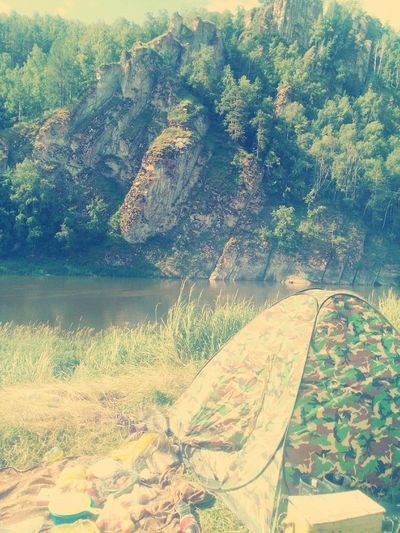 природа и красота природа, река, красиво природароссии палатка красота