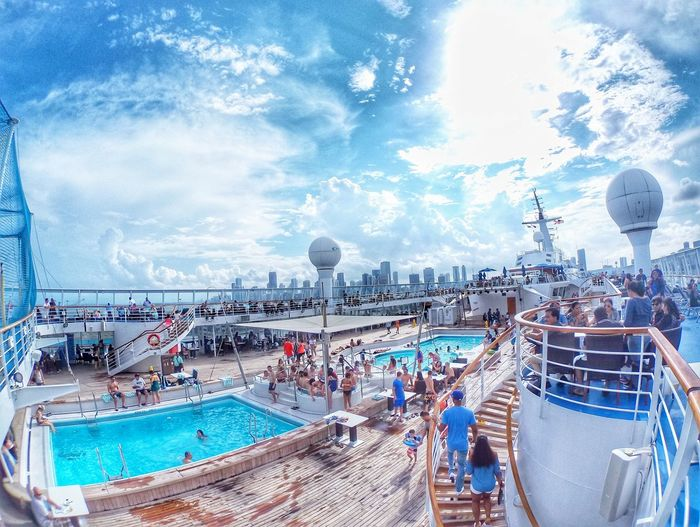 Norwegian Sky Cruiseship Cruise Cruiseship Pool Cruise Liner Cruise Ship To Bahamas Norwegian Cruise Norwegian Sky First Eyeem Photo