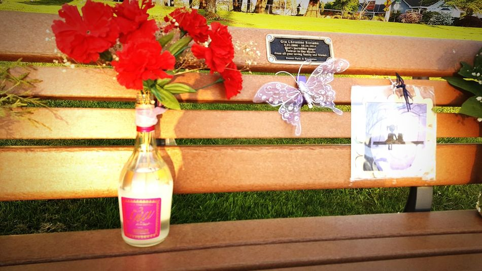 Wine Moments. RIP Gia Frances Ford Coppola Outdoors Day Growth Flower No People Memorial Wine Moments Wine Not