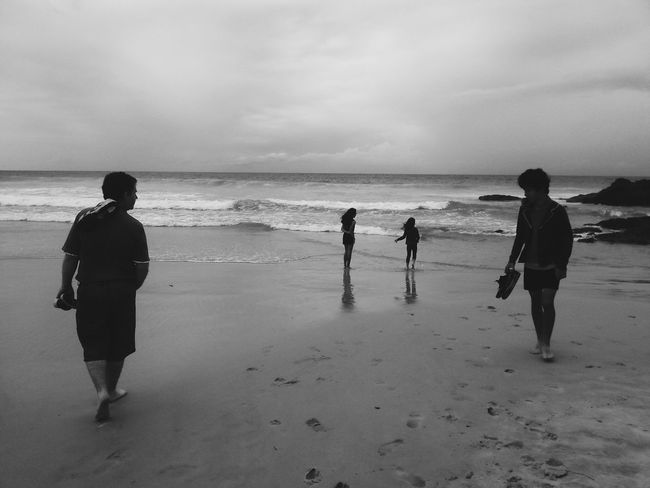 Wonderful to spend a day away from the big smoke, after a busy couple of months! What I Value Love My Family ❤ Beach Black And White Blessed  People Of The Oceans