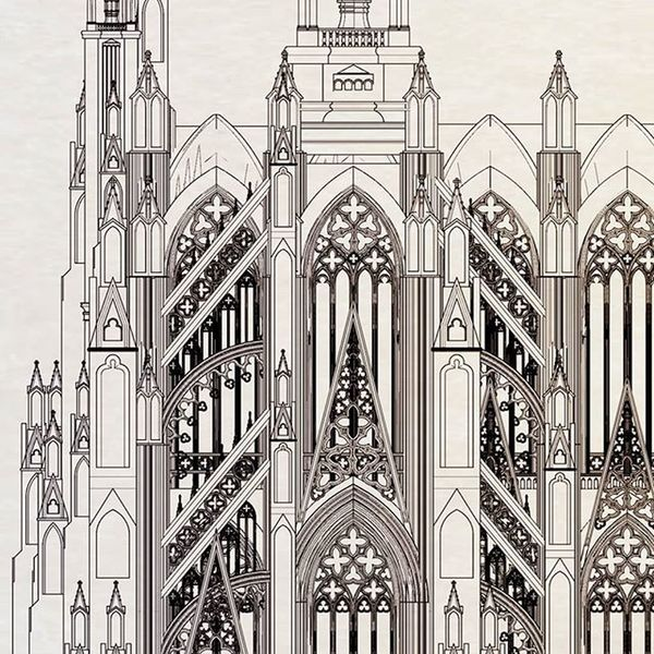 自製3D哥德教堂模型,建築線圖。 小時候非常喜歡動畫或電影中精緻的城堡或哥德建築,也許是當時想畫出來,心嚮往卻力不足,無法滿足造成現在持續創作的彌補心理,但十分享受創作的過程。 :) 黃璽丹 Stan Huang Studio Art Design Gothic Illustration 3D Gothic Calligraphy Art Lettering Fashion Colorful Colors Ink Pencil Pen Nib Design Beautiful Painting Drawing Brush Writing Paper Designer  ArtWork work fun artist penmanship calligrapher calligraphicpen handcrafted handmade