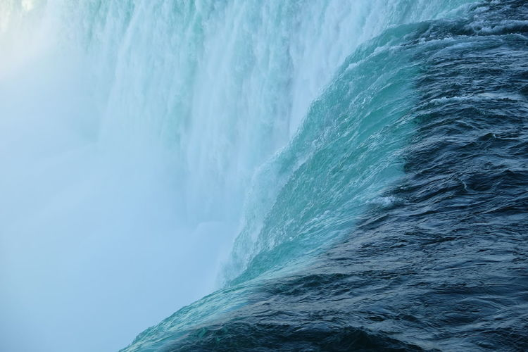 Full frame shot of majestic niagara falls