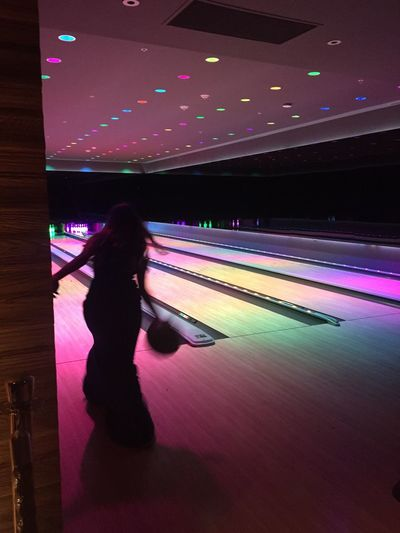 Bowling Bowling In Style Only In Miami Miami Beach Having Fun Neon Lights