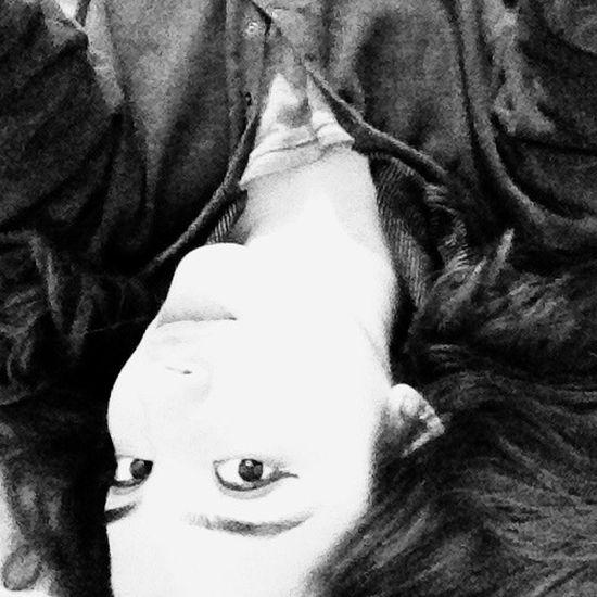 ThatsMe Goodmorning Hello World Faces Of EyeEm Blackandwhite Girl Eyeliner