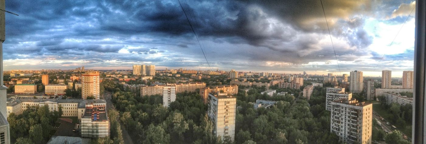 Landscapee Moscow City HDR