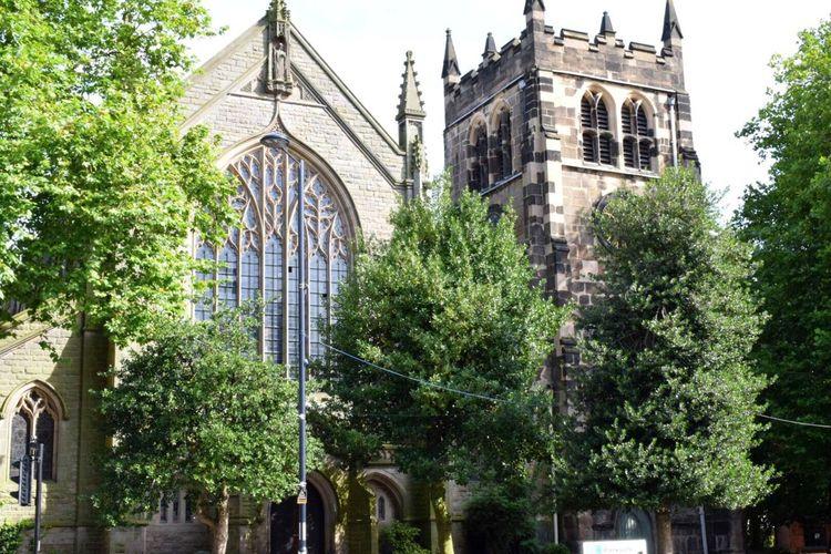 St Werburgh's Church Derbyshire Derby Architecture Wandering Around Church Churches