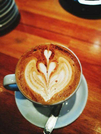Coffee - Drink Cappuccino Latte Art Colombian Coffee
