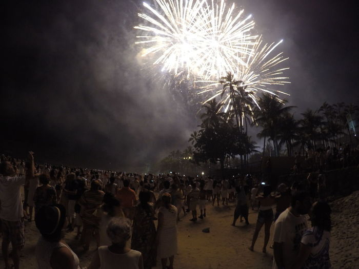 Arts Culture And Entertainment Celebration Crowd Event Exploding Firework Firework - Man Made Object Firework Display Gopro Illuminated Large Group Of People Lifestyles Men Night Outdoors People Real People Sky Togetherness Watching Women HUAWEI Photo Award: After Dark
