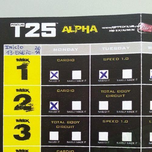 Empezamos la segunda semana de Focust25 Focust25alpha Fitlife Deporte focust25challenge
