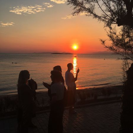 Sunset Greece Sky