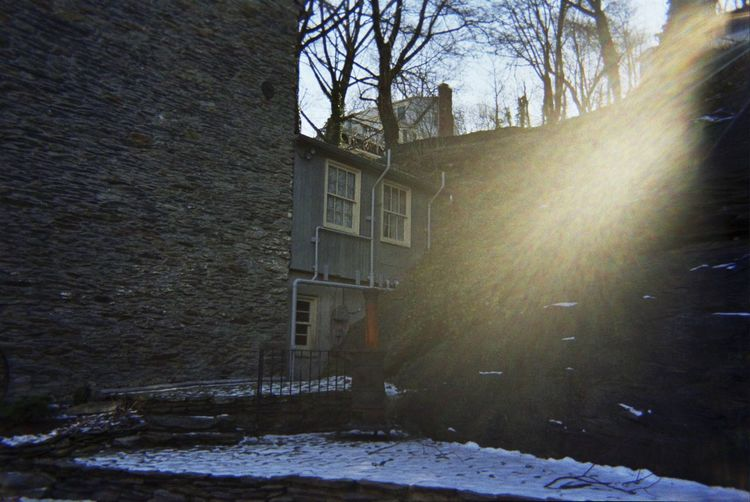 Adapted To The City Harpers Ferry Historical Building Beam Of Light
