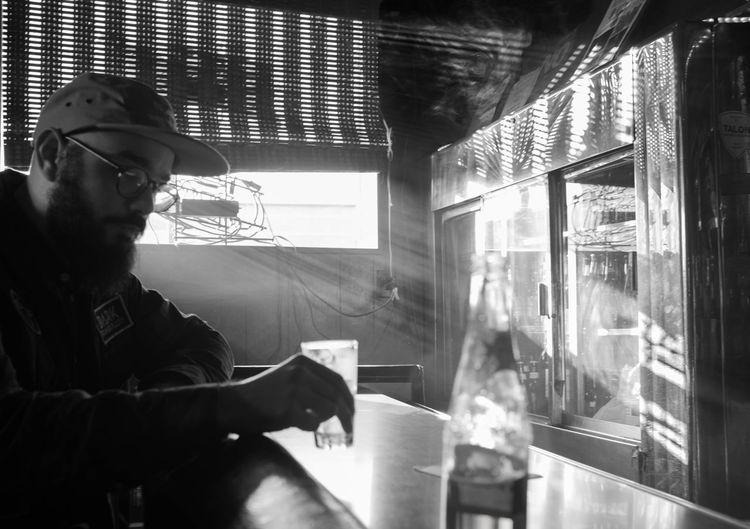 Drunk EyeEmNewHere Friends Bar Blackandwhite Light And Shadow Portrait Portraiture