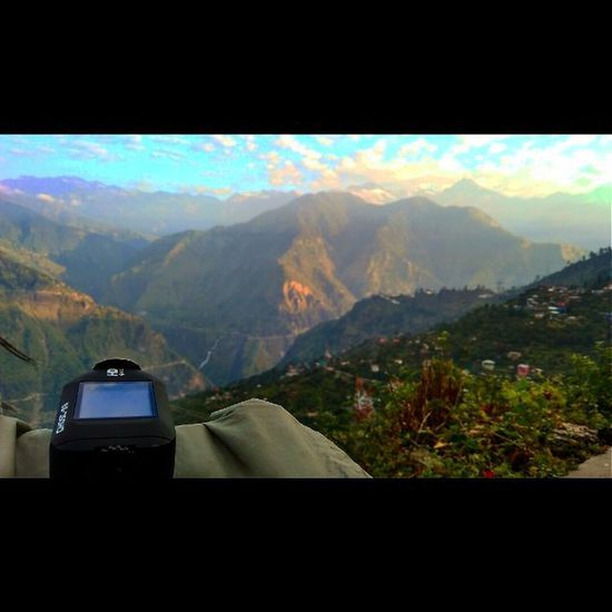 View from Sarahan Drift Ghosts Sarahan Bhimakali Temple Timelapse Driftinnovation Hptdc Hotelshrikhand Himachal Himalayas Nature Landscape Himachaltourism Lonetraveller Sony XPERIA PAHADIART Photography Ankitdogra